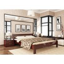 """Ліжко """"Рената"""" Щит Естелла (дерев'яне ліжко з бука)"""