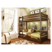 """Кровать """"Дуэт"""" Массив Эстелла (деревянная двухъярусная кровать)"""
