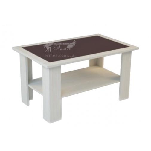 Журнальный столик Куб Феникс (кофейный столик с дополнительной полкой)