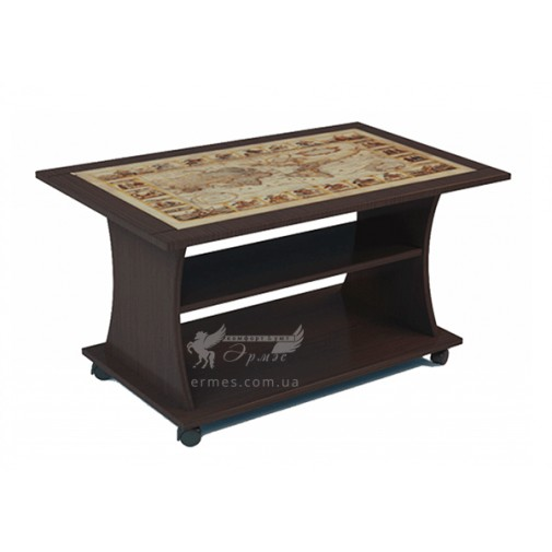 Журнальный столик Бетта Феникс (кофейный столик на колесиках)