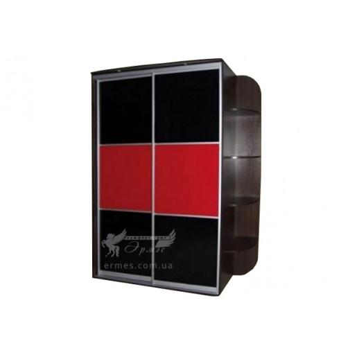 Двухдверный шкаф-купе Ф143  Люкс Феникс (для прихожей)
