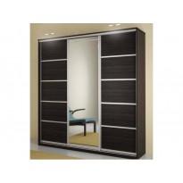 Трехдверный шкаф-купе Ф100 Стандарт Феникс (с зеркалом для спальни)
