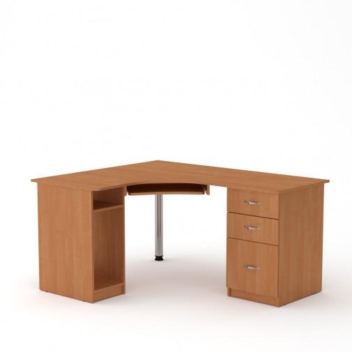 """Комп'ютерний стіл """"СУ-9"""" Компанит (з хромований опорою та тумбами)"""