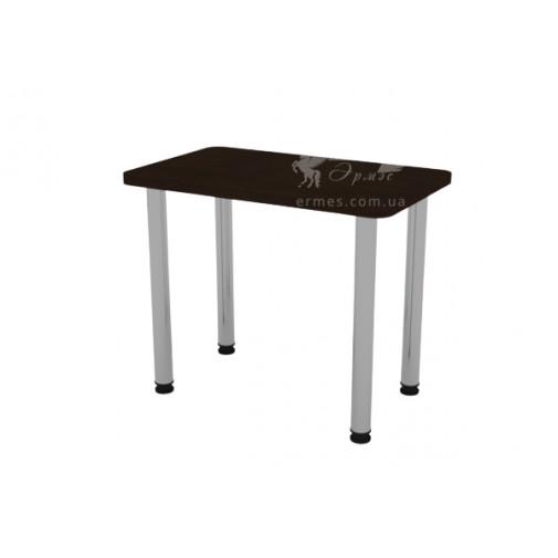 Кухонний стіл КС-9 Компанит (на хромованих опорах)