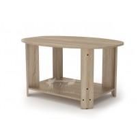 """Журнальний стіл """"Овал"""" Компанит (з овальної стільніцею)"""