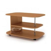 """Журнальний столик """"Танго L"""" Компанит (прямокутний на коліщатках)"""