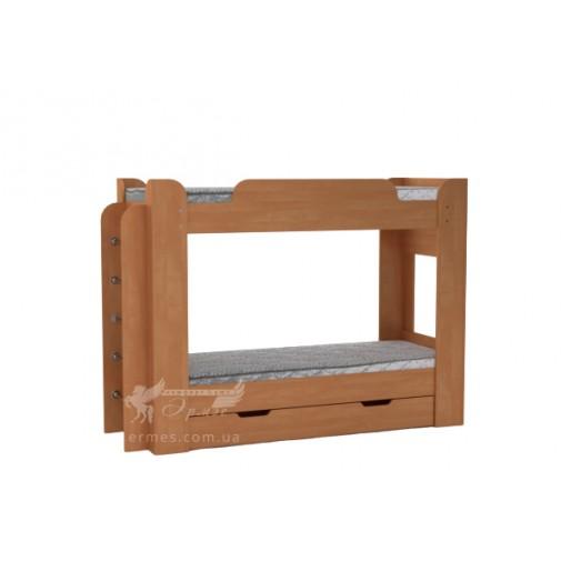 Кровать Твикс Компанит (с ящиками и лестницей)