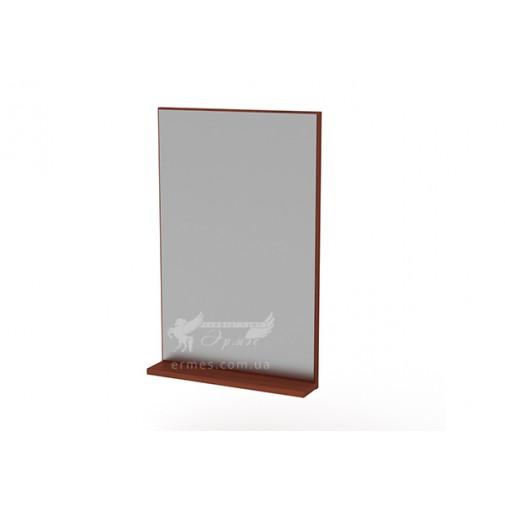 Зеркало - 2 Компанит (прямоугольное на стену с полкой)