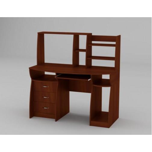 """Комп'ютерний стіл """"Комфорт-3"""" Компанит (з відкритою надбудовою)"""