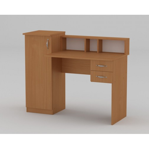 """Компьютерный стол """"Пи-Пи-1"""" Компанит (с тумбой и ящиками)"""