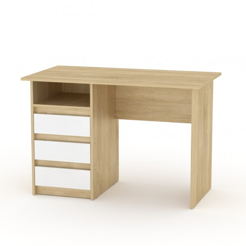 """Письменный стол """"Декан-1"""" Компанит (с ящиками)"""