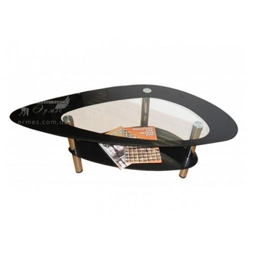 Журнальний столик J-1 M-Destin (фігурний скляний столик)