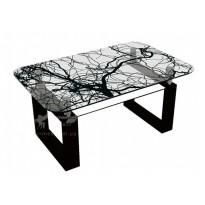 Журнальный столик J-2 M-Destin (стеклянный коктельный стол)