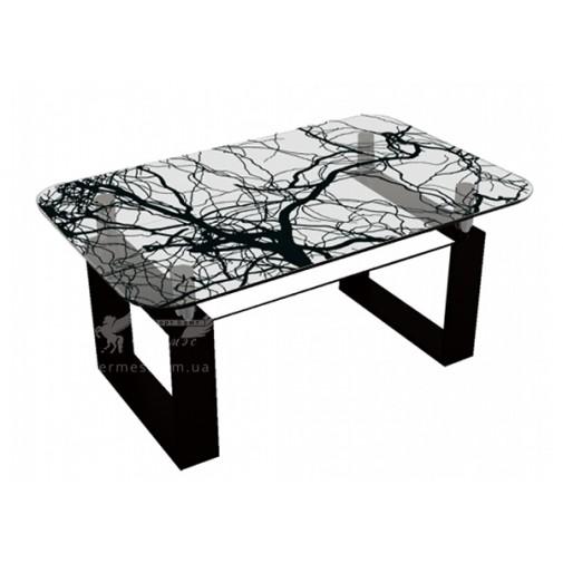 Журнальний столик J-2 M-Destin (скляний коктельний стіл)