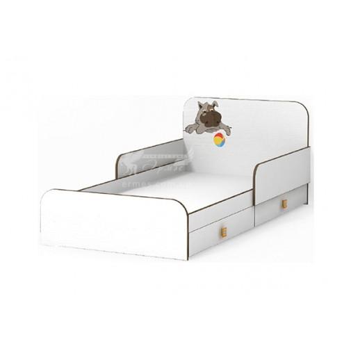 Кровать без бортика Joy MatroLuxe (с высоким изголовьем)