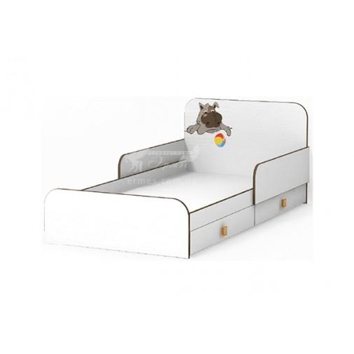 Кровать с бортиком Joy MatroLuxe (с ящиками)