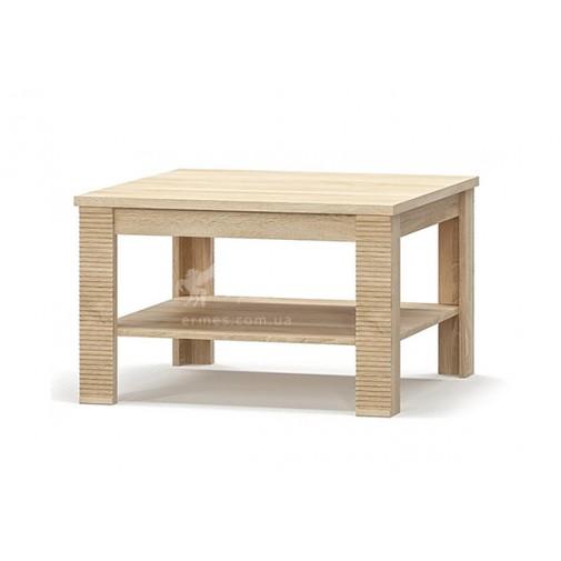 """Журнальний стіл 75 """"Гресс"""" Меблі Сервіс (прямокутний з поличкою)"""