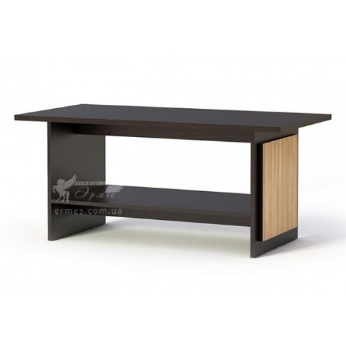 """Журнальний столик """"Каспіан"""" Меблі Сервіс (прямокутний з поличкою)"""
