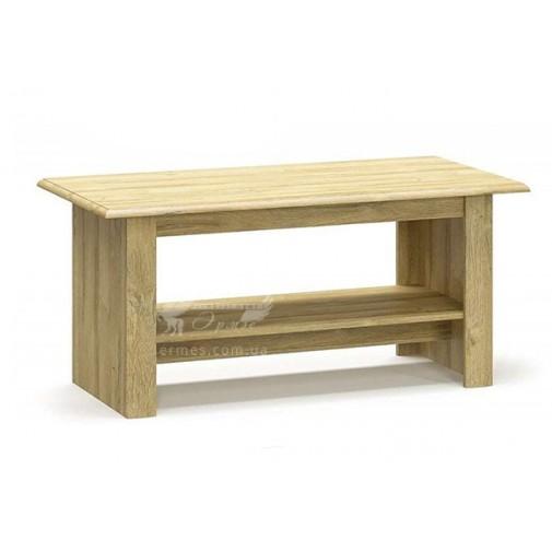 """Журнальный столик """"Далия"""" Мебель Сервис (прямоугольный с полочкой)"""