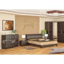 """Кровать 160 """"Токио"""" Мебель Сервис (без изножья)"""