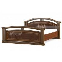 """Кровать 160 """"Алабама"""" Мебель Сервис (классическая с высоким изголовьем)"""