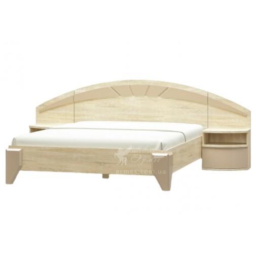 """Кровать 160 """"Аляска"""" Мебель Сервис (современная, двуспальная кровать)"""