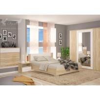 """Кровать 160 """"Маркос"""" Мебель Сервис (с высоким изголовьем)"""
