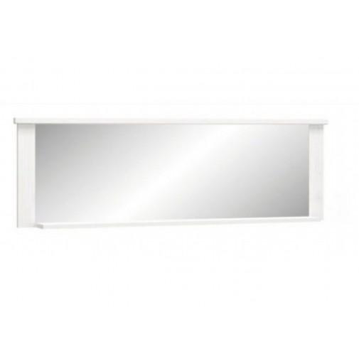 """Зеркало """"Джорджия"""" Мебель Сервис (широкое, белое)"""