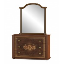"Комод 3 д ""Алабама"" Мебель Сервис (широкий, классический)"