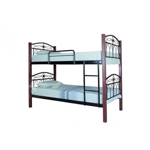 """Ліжко металеве двоярусне """"Елізабет"""" Melbi (для двох дітей)"""