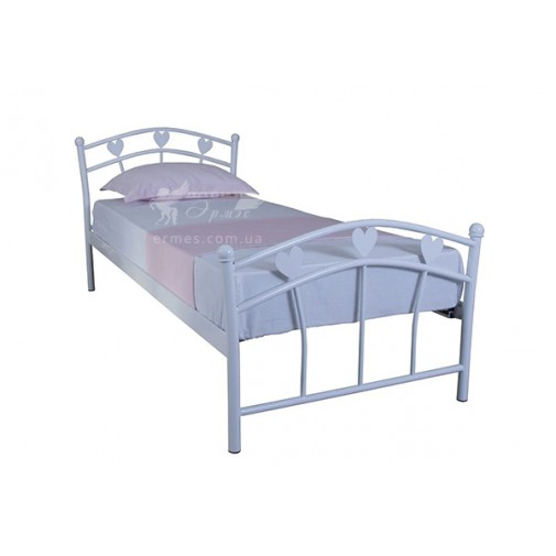 """Дитяче ліжко металеве """"Принцесса"""" Melbi (для дівчинки)"""