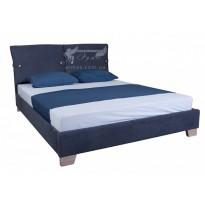 """Кровать """"Мишель"""" Melbi (мягкая без изножья)"""