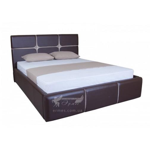 """Кровать """"Стелла с подъёмным механизмом"""" Melbi (мягкая, с коробом)"""