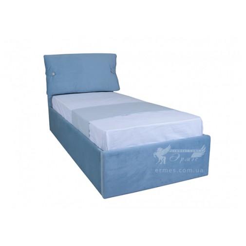 """Ліжко """"Мішель односпальне з підйомнім механізмом"""" Melbi (з м'яким підголовніком)"""