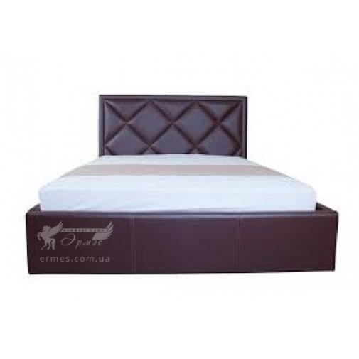 """Кровать """"Доминик с подъемным механизмом"""" Melbi (с высоким мягким изголовьем)"""