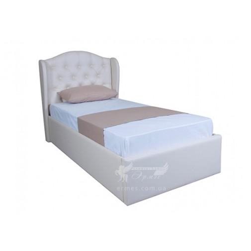 """Ліжко """"Грація односпальне з підйомнім механізмом"""" Melbi (з високим м'яким узголів'ям)"""