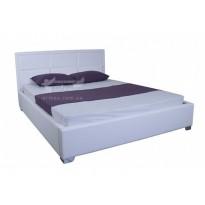 """Кровать """"Агата"""" Melbi (с высоким мягким изголовьем)"""