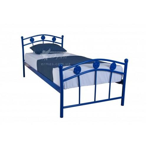 """Дитяче ліжко металеве """"Чемпіон"""" Melbi (для хлопчика)"""