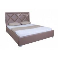 """Кровать """"Доминик"""" Melbi (с высоким изголовьем без изножья)"""