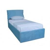 """Кровать """"Мишель односпальная с подъёмным механизмом"""" Melbi (с мягким подголовником)"""
