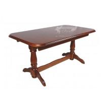 """Стол """"Бавария"""" Мелитополь мебель (деревянный прямоугольный в гостиную)"""