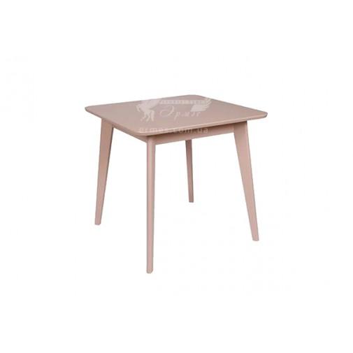 """Стол  """"Модерн"""" 800*800 Мелитополь мебель (деревянный квадратный на кухню)"""