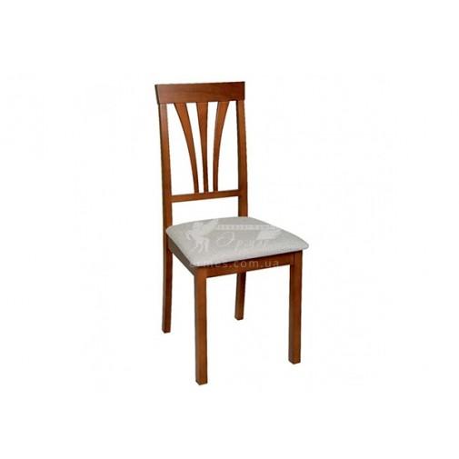 """Стул """"Ника 7 Н"""" Мелитополь мебель (деревянный с декорированной спинкой)"""