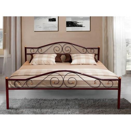 """Кровать """"Респект"""" чёрный Микс мебель"""