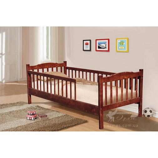 """Кровать """"Юниор"""" с двумя заборами Микс мебель"""