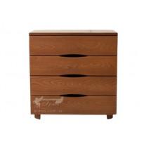"""Комод """"Мария"""" Микс мебель (деревянный с фасадами без ручек)"""