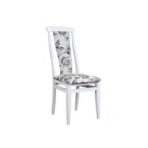 """Стул """"Чумак-2"""" белый Микс мебель (деревянный с мягкой спинкой)"""