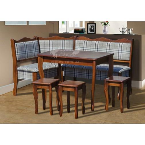 """Кухонный уголок """"Шотландия"""" комплект Микс мебель (комплект из дерева)"""