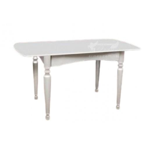 """Стол обеденный раскладной """"Поло - Беж"""" Микс мебель (белый деревянный)"""