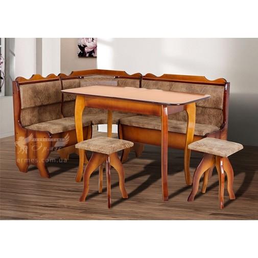"""Кухонный комплект """"Даллас"""" Микс мебель (стол и стулья)"""